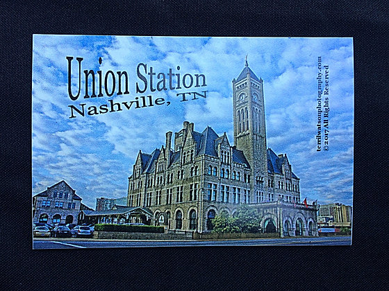 Union Station Refrigerator Magnet Large - Nashville, TN