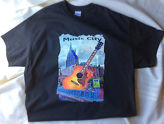 Nashville Black T-shirt #1