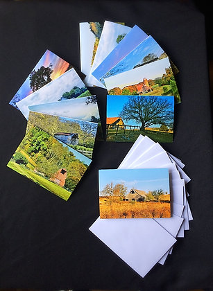 12 Pack Barns of Tennessee Note Cards