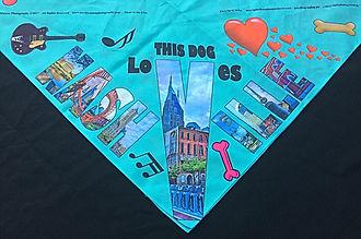 Dog bandanna