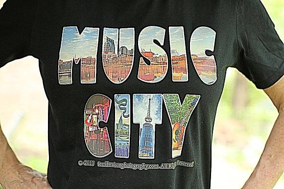 MUSIC CITY  T shirt #6