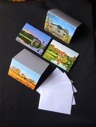 4 Pack Barns of Tennessee Note Cards