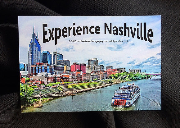 Nashville STICKER #4 - 6 x 4 inches