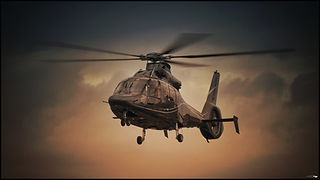 Eurocopter EC155 // Paris (France) // Avril 2021