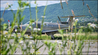 Pilatus PC12NG // Chambéry (France) // Juin 2020