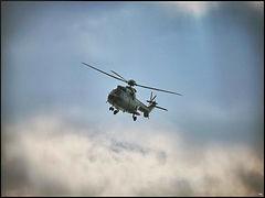 Eurocopter AS332 Super Puma // Paris (France) // Avril 2020