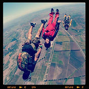 Skydive Andes (Chili) // 2012