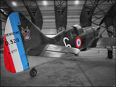Dewotine D.520 // Le Bourget (France) // Octobre 2020