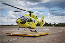 Eurocopter EC145 // Dijon (France) // Juillet 2021