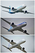 Airbus A330-900 + Boeing 787-9 + Airbus A350-1000 // Le Bourget (France) // Juin 2019