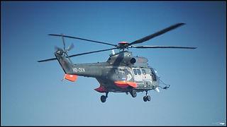 Eurocopter AS332 Super Puma // Paris (France) // Avril 2021