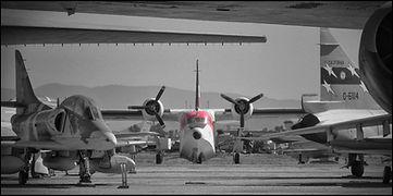Grumman HU-16E Albatros + McDonnell-Douglas TA-4J Skyhawk // March (USA) // Octobre 2019