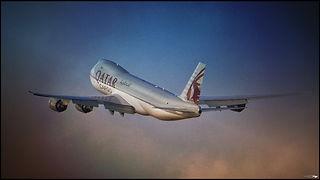 Boeing 747-8F// Charles De Gaulle (France) // Décembre 2020