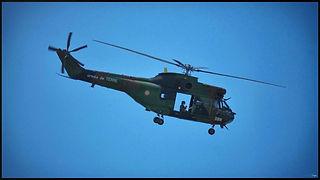Eurocopter AS330 Puma // Paris (France) // Avril 2020