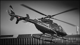 Bell 407// Issy Les Moulineaux (France) // Avril 2021