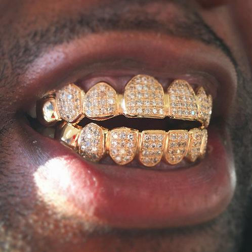 14k 8T&8B with diamond
