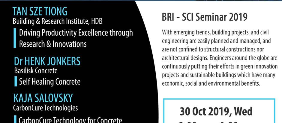 Urban Structure & Technologies Seminar 2019