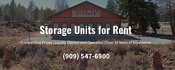 Storage Units for Rent in Big Bear City