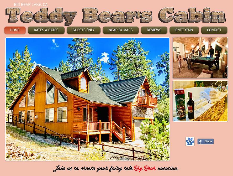 Teddy Bear's Cabin