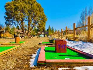 New 9-hole Mini-Golf Course. Welcome To Wonka's Mini-Golf Course!