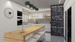 עיצוב מטבח - דירת גן פתח תקווה