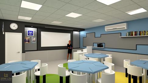 עיצוב בית ספר יסודי - אריאל