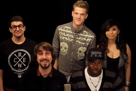 Scott Hoying with Pentatonix