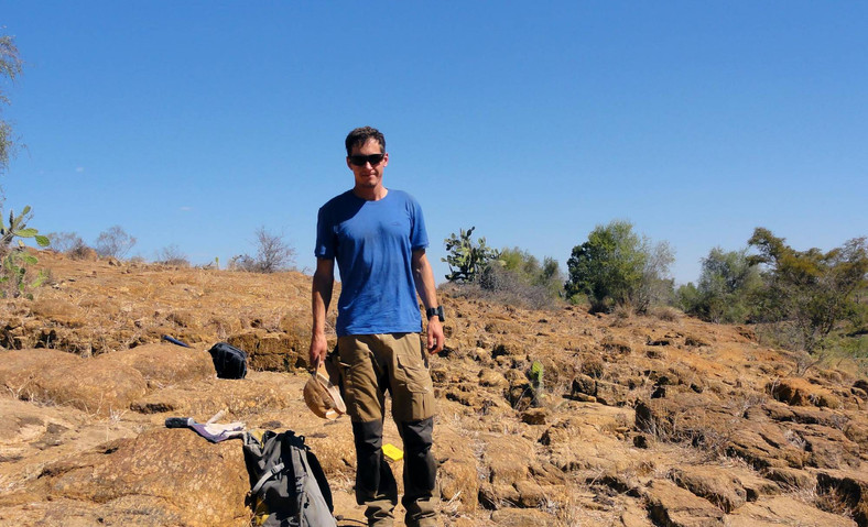 On the outcrop