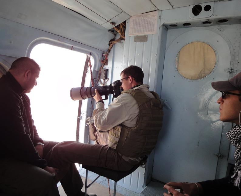 Recon in the MI8 Russian helo