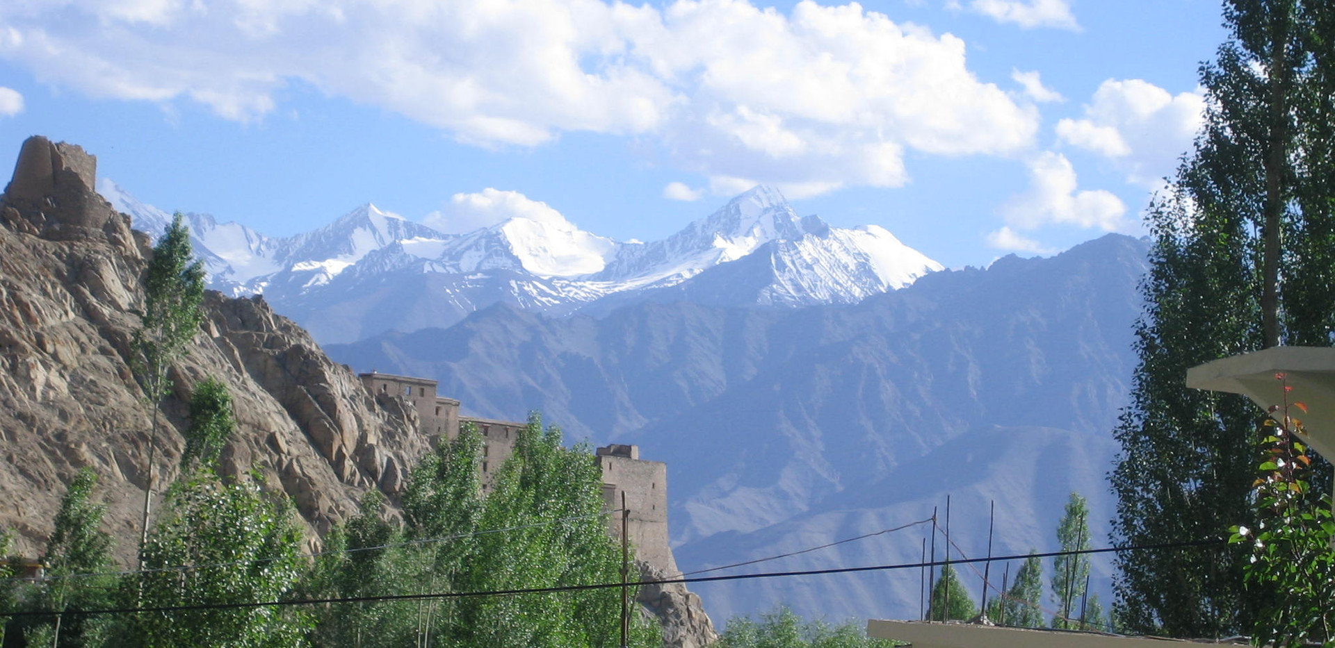 Stok Kangri in from Leh.