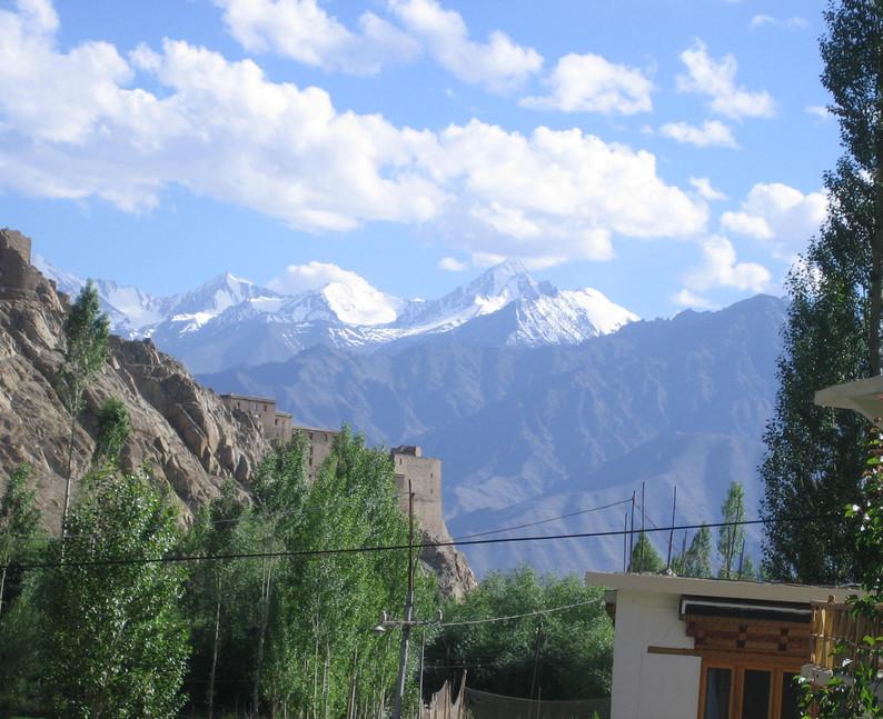 Stok Kangri in from Leh.