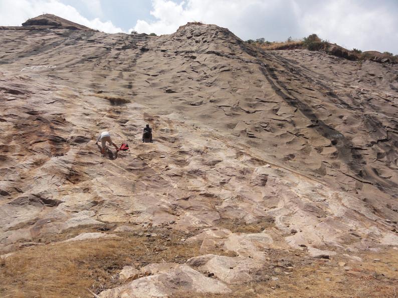 Massive quarry.