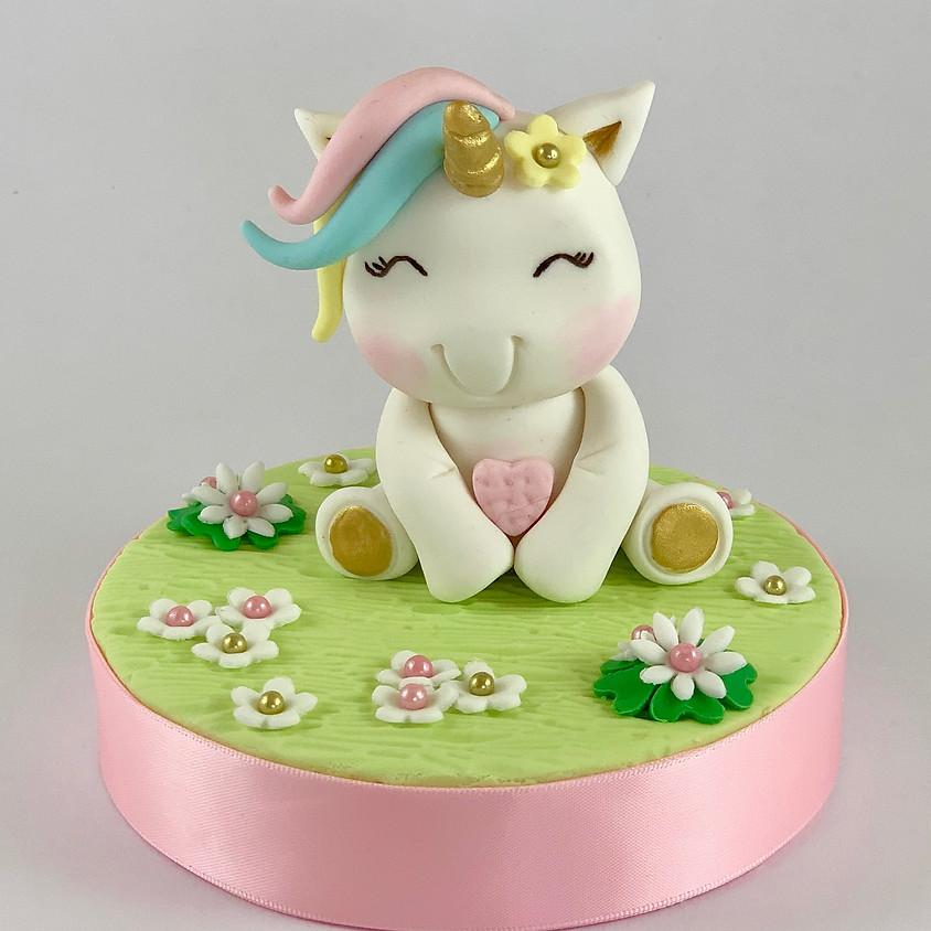 Cute Unicorn Cake Topper