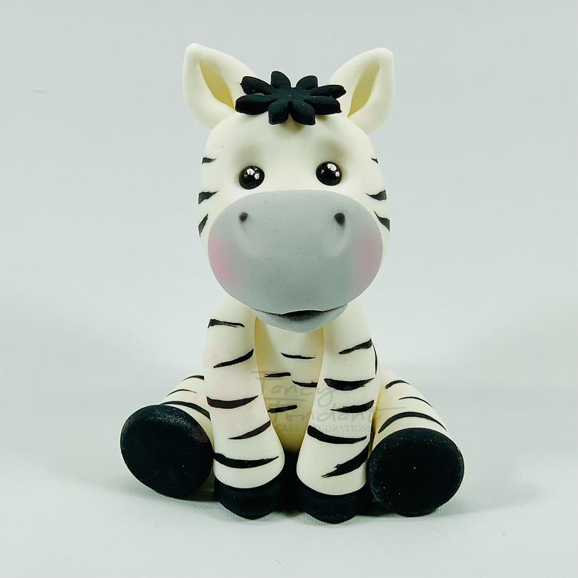 Jungle Animals- Zebra
