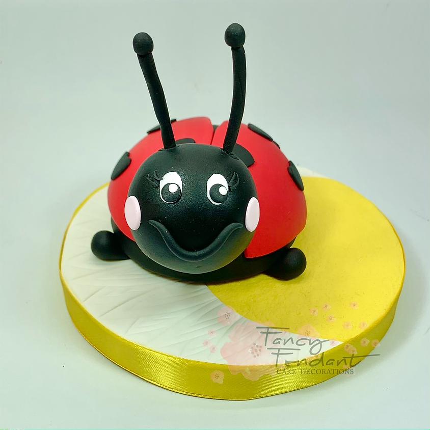 Ladybird Cake Topper