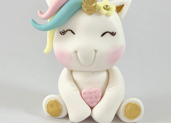 Fondant Unicorn Cake topper Decoration