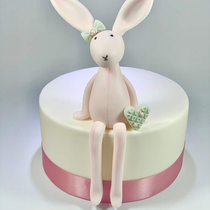 Easter Rabbit/ Bunny Topper and Dummy Cake
