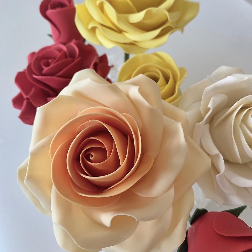 Rose and Rose Bud