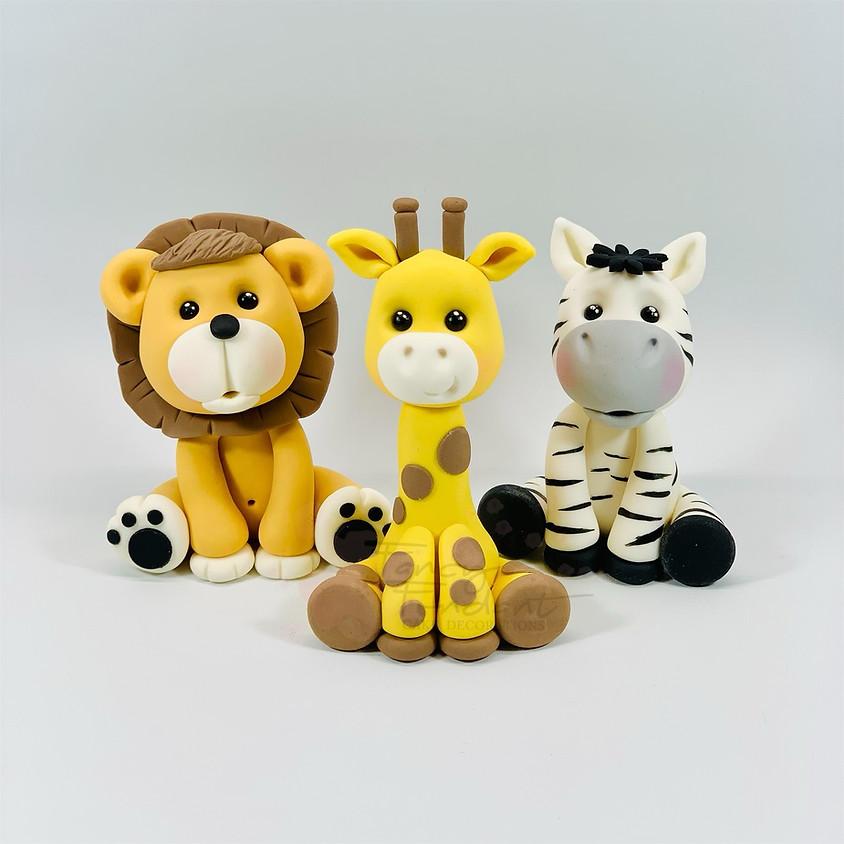 Jungle Animals All Three
