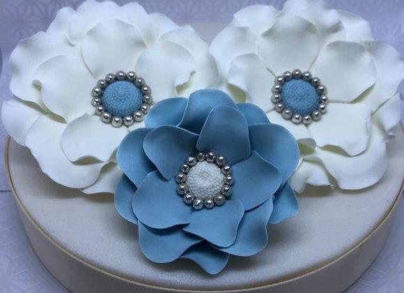 Fondant Gum paste Fantasy Flowers Cake topper Decoration