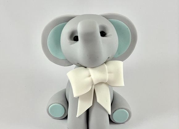 Fondant Elephant 7.5cm high Cake topper Decoration