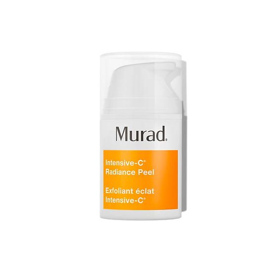 Murad - Intensive-C Radiance Peel, an at-home peel, an excellent skincare product for lightening spots, smoothing wrinkles.