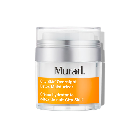Murad City Skin Overnight Detox Moisturizer | Best Brand and Skin Care Products