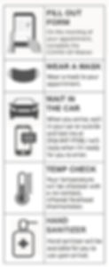 Patina Skin & Wax - COVID Infographic Safe Client