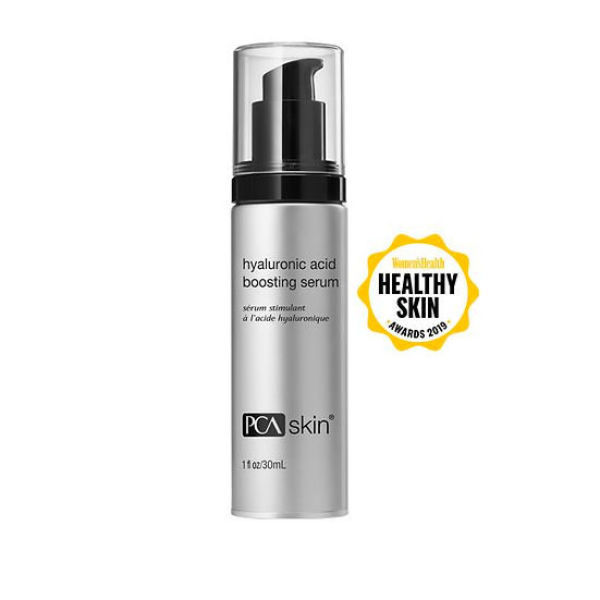 PCA Skin Hyaluronic Acid Serum, one of the best skincare products to have in a skin care routine.
