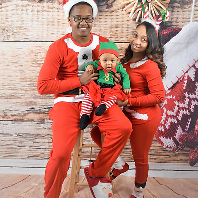 Diiamond & Family Christmas Pictures