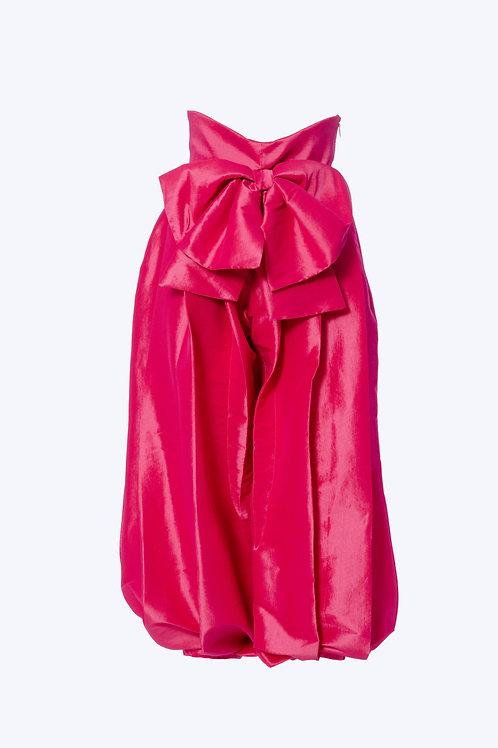 Silk Taffeta Harem Pants