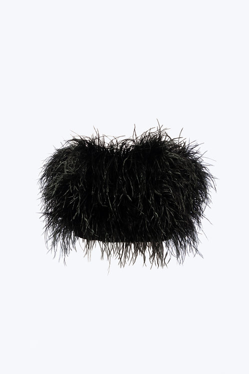 Ostrich Feathers Top