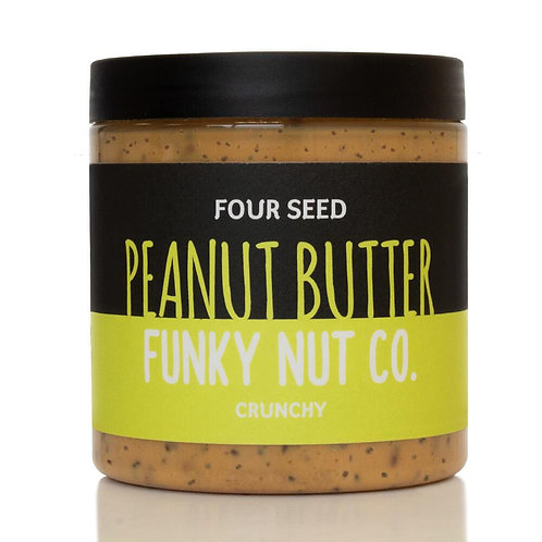 Four Seed Peanut Butter (Palm-oil Free!) - 265g