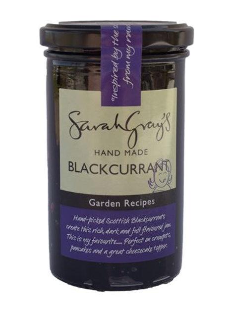 Sarah Gray's Blackcurrant jam